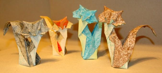 Origami Gatos