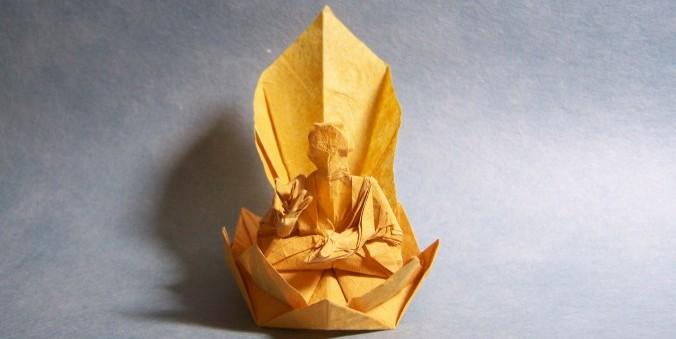 Origami Buddha de Takashi Hojyo