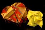 origami_flor_rosa_caixa_coracao