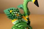 Origami Cisne Block Folding