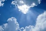 Raios de Sol entre Nuvens