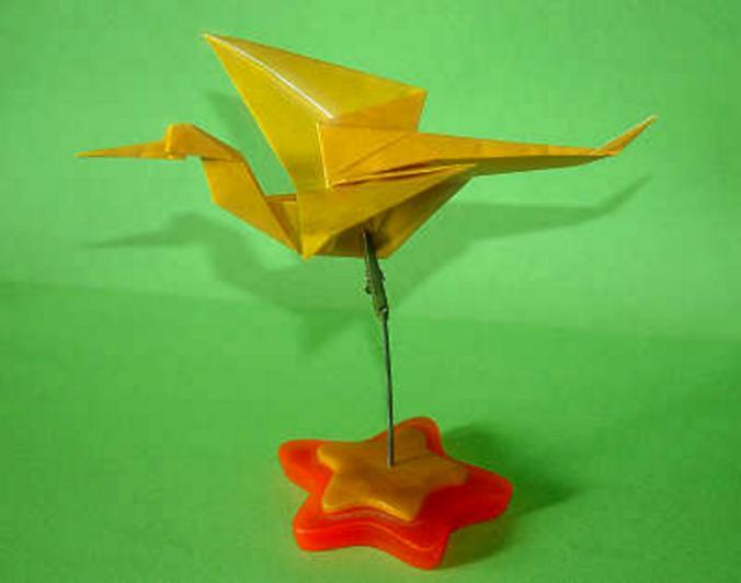 Origami Cegonha Stork