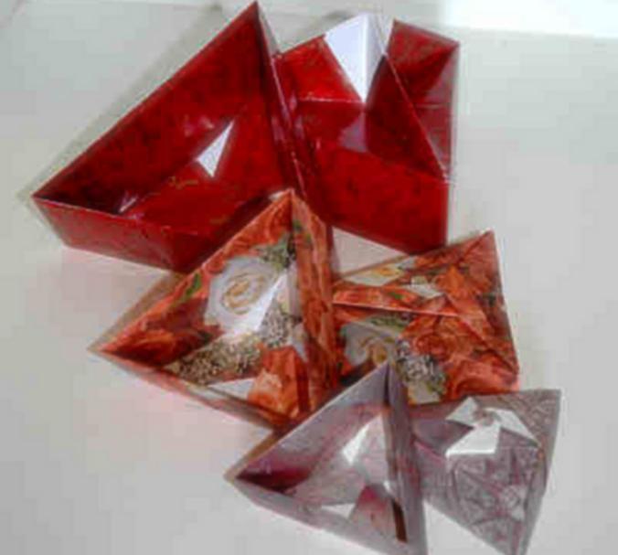 Origami Matrioshkas