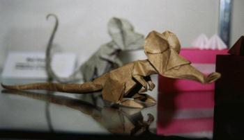 Origami de Rato Dobrado por Eric Joisel