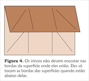 Como Diagramar Origami: Bordas, Vincos, Dobras Vale e Montanha