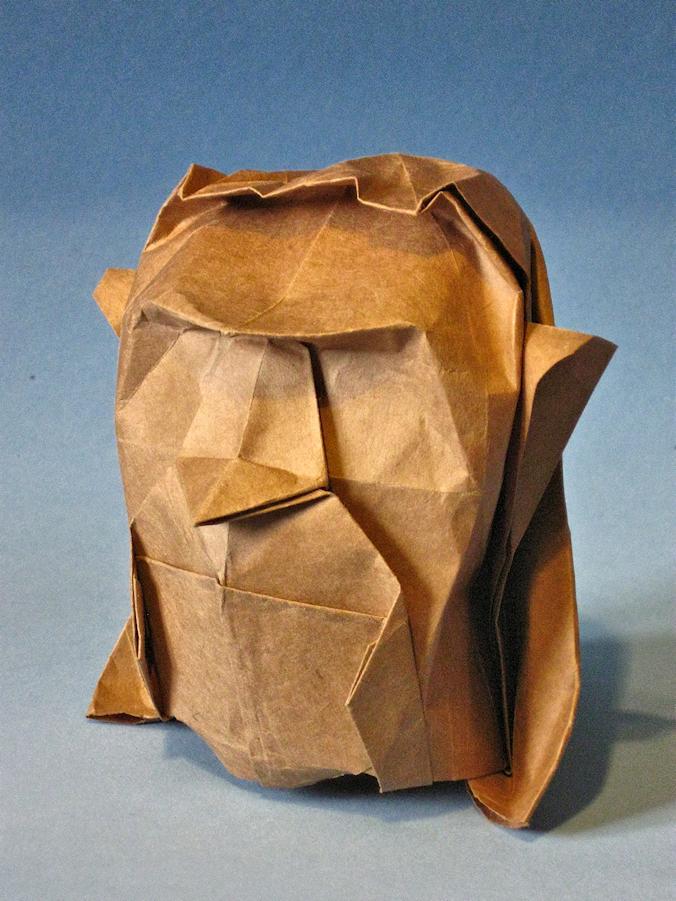 Origami Head Davor Vinko