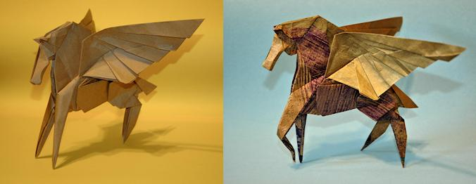 Origami Pegasus Takashi Hojyo