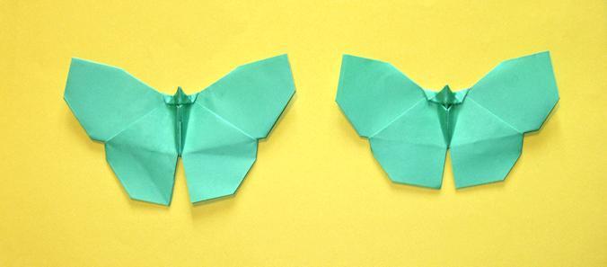 Origami Borboleta Yoshizawa
