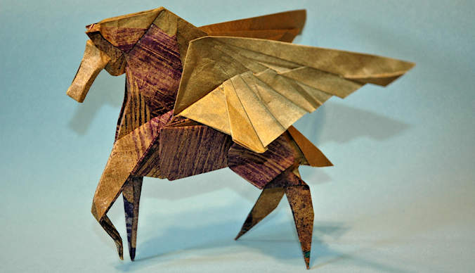 Origami Pégasus de Takashi Hojyo