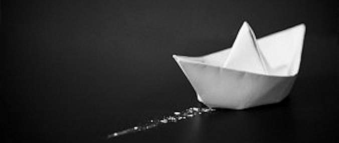 Origami de Barco de Papel