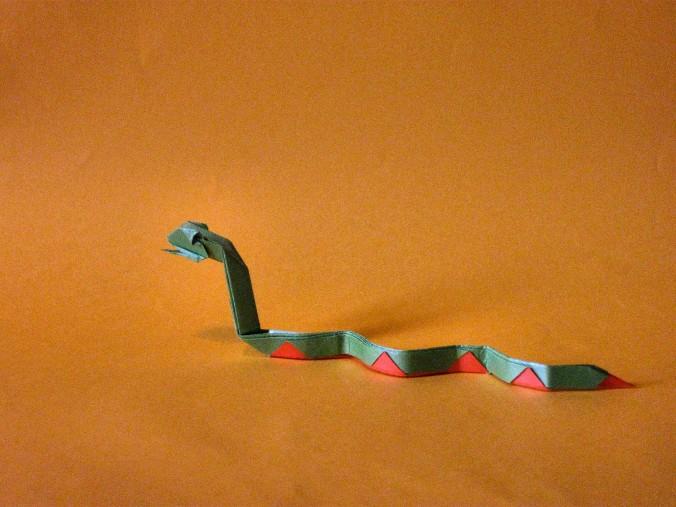Origami Cobra de Joh Montroll