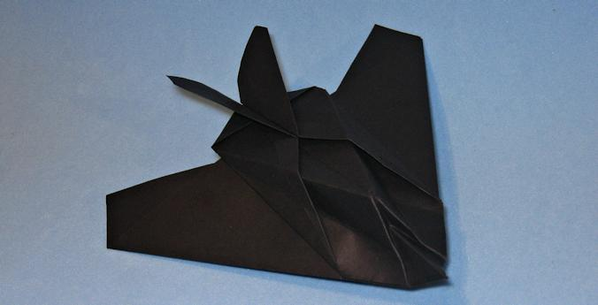 Lockheed F117 Nighthawk Origami Aviao
