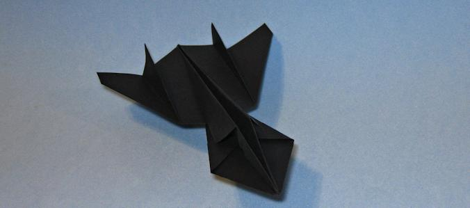 Lockheed SR17 Blackbird Origami Aviao
