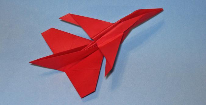Saab JAS-39 Gripen Origami Aviao