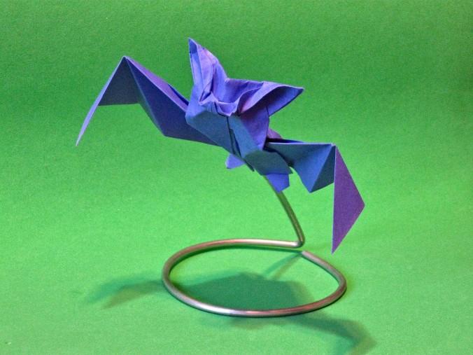 Origami Halloween Bat by Protogenius