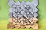 Origami Tesselation 4 Hydrangeas