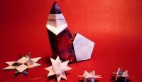 Origami Papai Noel Catrela