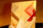 Origami Envelope Tsuru