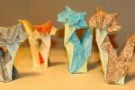 Origami Gatos de Roman Diaz