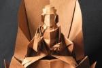 Origami Buda na Flor de Lótus de Hojyo Takashi