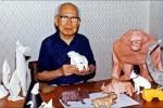 Akira Yoshizawa e seus Origamis